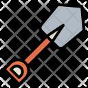 Spade Trowel Digging Icon