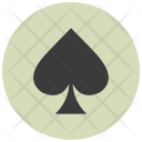 Spade Card Gambling Icon
