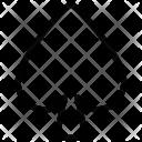 Spade Poker Element Icon