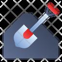 Spade Shovel Trowel Icon