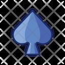 Spade Playing Card Poker Icon