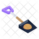 Spade Gardening Equipment Construction Tool Icon