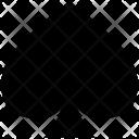 Spade Card Poker Icon