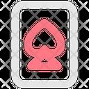 Spade Card Poker Card Casino Card Icon