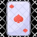 Casino Card Spade Card Poker Card Icon