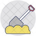 Spade Tool Digging Icon