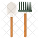 Spade Spading Tools Gardening Equipment Icon