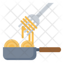 Cooking Meal Spaghetti Icon