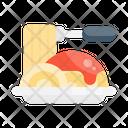 Spaghetti Food Noodle Icon