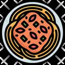 Spaghetti Pasta Italian Icon