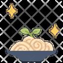 Spaghetti On Dish Spaghetti Pasta Icon