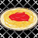 Spaghetti With Sauce Icon