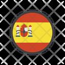 Spain Country Flag Spain Flag Icon