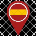 Spain Espana Location Icon