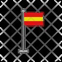 Spain Flag Spain Round Icon