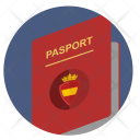 Passport Spain Espana Icon