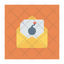 Spam Email Open Icon
