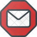 Spam Email Allert Icon