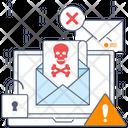 Virus Hoax Email Virus Malware Icon