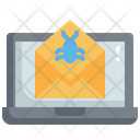 Spam Email Mail Bug Email Bug Icon