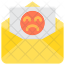 Bad Spam Mail Bad Content Icon