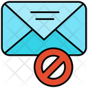 Spam Mail Mail Block Block Mail Icon