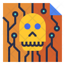 Spam Skull Mail Icon