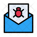 Bug Virus Email Icon