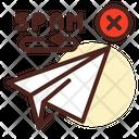 Spam Message Return Spam Return Spam Mail Return Icon
