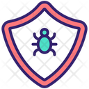 Spam Protection Bug Protection Shield Protection Icon