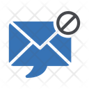 Spam Email Ban Icon
