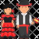 Spanish Outfit Spanish Clothing Spanish Dress Icon