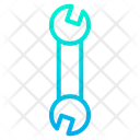 Wrench Construction Tool Machenic Tool Icon