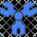 Spanner Analysis Analyst Icon