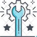 Spanner Wrench Repair Tool Icon