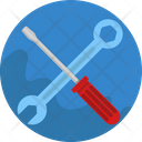 Construction Building Spanner Chisel Icon