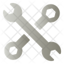 Spanner And Wrench Icon