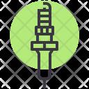 Spark Plug Car Icon