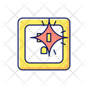 Outlet Power Spark Icon