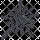 Sparkler Celebration Fireworks Icon