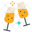 Sparkling Wine Cheer Icon