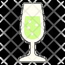 Sparkling Wine Sparking Glass Glass Icon