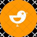 Sparrow Bird Autumn Icon