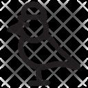 Sparrow Bird Fly Icon