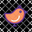 Sparrow Bird Spring Icon