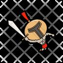 Cute Vector Cartoon Icon