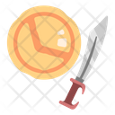 Spartan Weapon Sword And Shield Swoard Spartan Weapon Icon