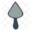 Spatula Cement Construction Icon