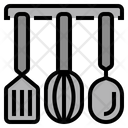 Spatula Whisk Ladle Tool Equipment Icon