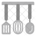 Spatula Whisk Ladle Icon
